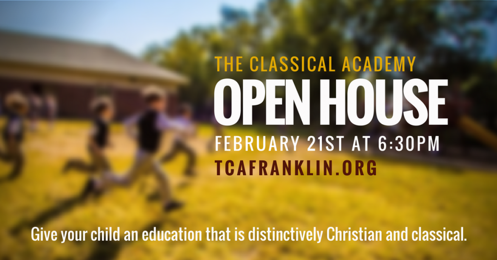 classical, private school, open house